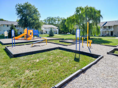 Play area at Greentree Village Townhomes in Lebanon, PA
