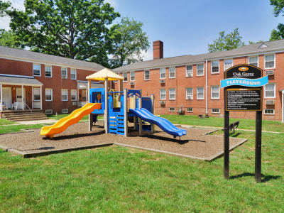 Playground at Oak Grove Apartments & Townhomes in Middle River, MD