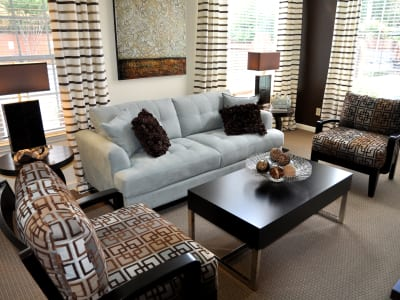 Enjoy a cozy living room at Brookwood Valley
