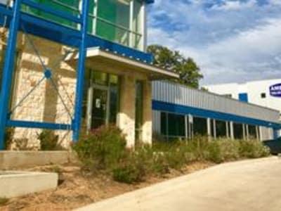 leasing office at American Value Storage in San Antonio, Texas