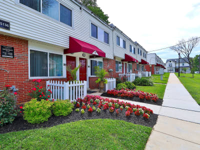 Neighborhood at Gwynnbrook Townhomes, in Baltimore