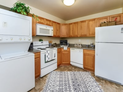 Spacious kitchen at apartments in Eastampton, New Jersey