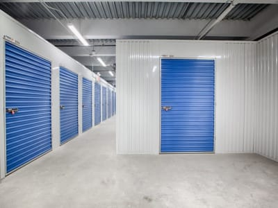 Interior units at Clutter Self-Storage in Culver City, California