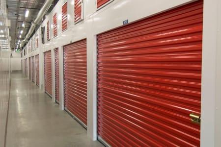 Indoor storage units at Trojan Storage in Salem, Oregon