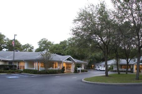 Exterior view of Windsor Oaks At Bradenton community in Florida