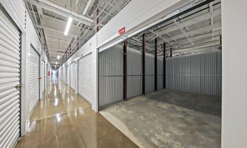 Interior Storage Units at Storage Star in Dallas, Texas