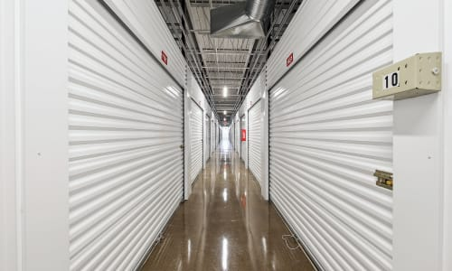Storage Star in Dallas, Texas storage Hallway