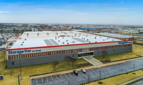 Storage Star in Dallas, Texas self storage Street View