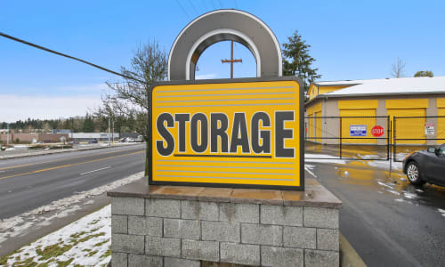 Storage Front sign at Storage Star in Federal Way, Washington