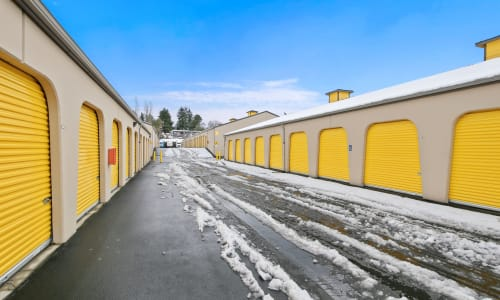 Exterior Storage Units at Storage Star in Federal Way, Washington