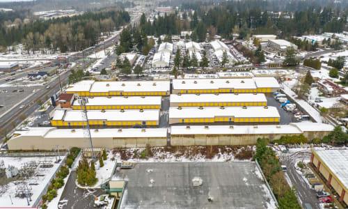 Storage Star in Federal Way, Washington self storage Aerial View