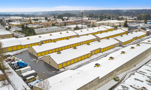 Aerial View of Storage Star in Federal Way, Washington
