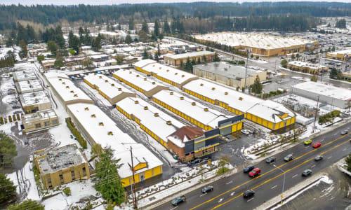 Storage Aerial View at Storage Star in Federal Way, Washington