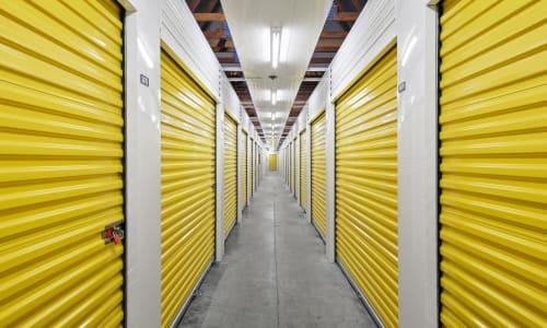 Interior Storage Units at Storage Star in Federal Way, Washington