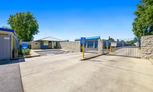 Gated Entrance at Storage Star Yuba City in Yuba City, California