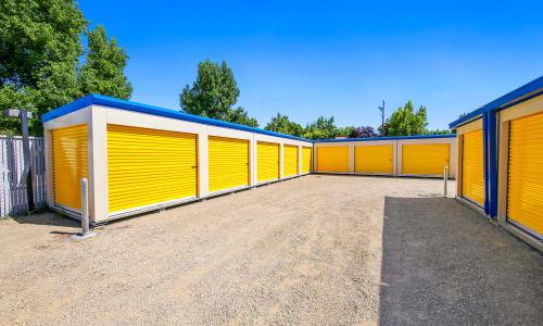Large storage Units at Storage Star Yuba City in Yuba City, California