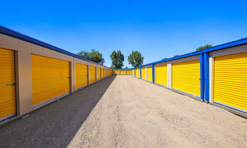 Exterior Storage Units at Storage Star Yuba City in Yuba City, California