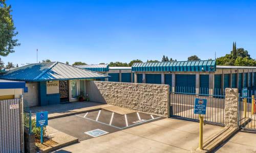 Office Entrance at Storage Star Yuba City in Yuba City, California