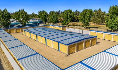 Exterior Units at Storage Star Yuba City in Yuba City, California