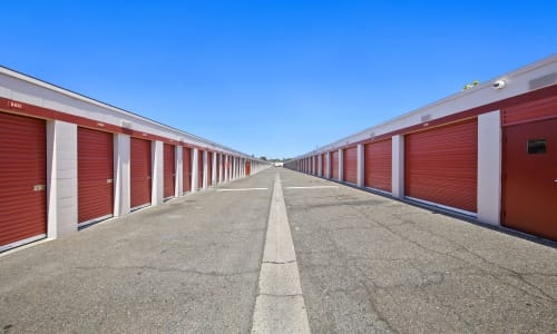 Exterior Storage Units at Storage Star Rancho Cordova in Rancho Cordova, California