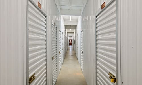 Interior Storage Units at Storage Star Rancho Cordova in Rancho Cordova, California