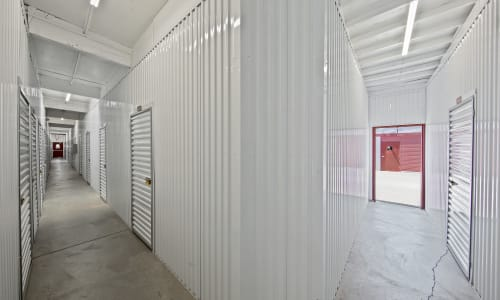 Rancho Cordova, California storage facility Interior Storage Units