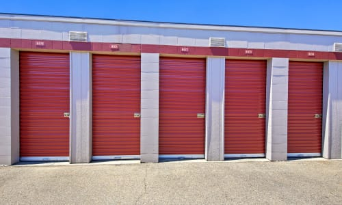 Small Storage Units at Storage Star Rancho Cordova in Rancho Cordova, California