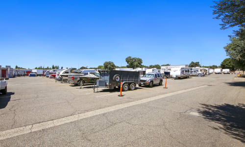 RV Storage at Storage Star Rancho Cordova in Rancho Cordova, California