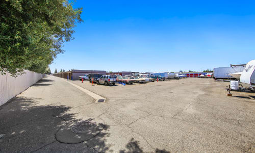 Parking Storage at Storage Star Rancho Cordova in Rancho Cordova, California
