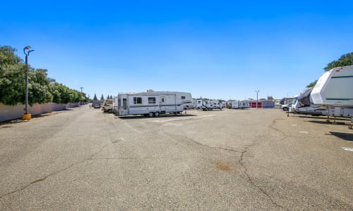Parking Storage for RV at Storage Star Rancho Cordova in Rancho Cordova, California