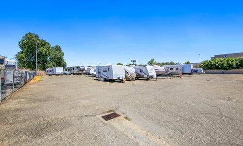 Parking storage in Rancho Cordova, California