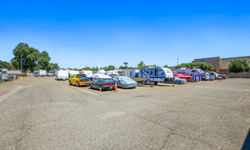 Rancho Cordova, California storage for auto or RV