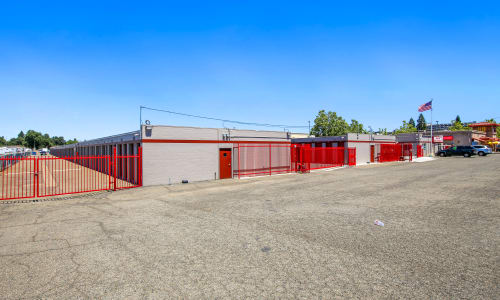Rancho Cordova, California gated storage facility