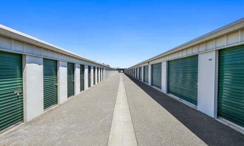 Exterior Storage Units at Storage Star Woodland in Woodland, California