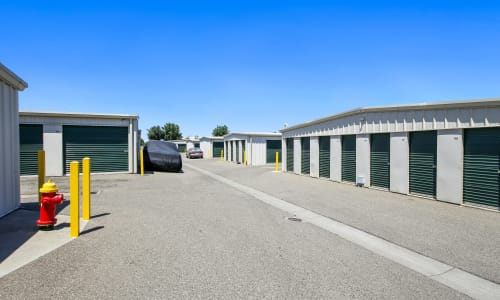Safe Exterior Storage Units at Storage Star Woodland in Woodland, California