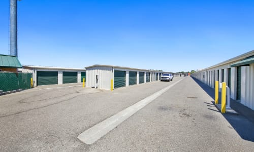 Full accessibility for storage at Storage Star Woodland in Woodland, California