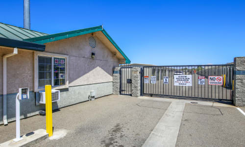 Gated Access Storage at Storage Star Woodland in Woodland, California