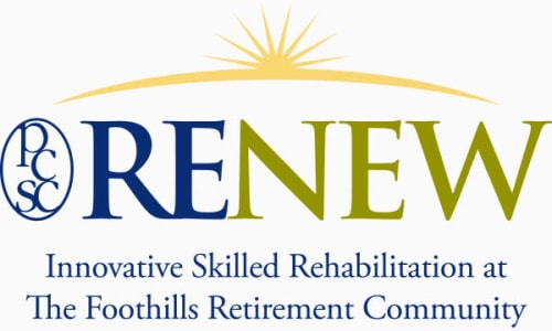 RENEW Innovative Skilled Rehabilitation at The Foothills Retirement Community
