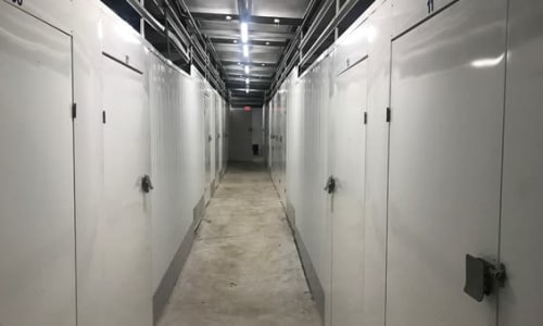 Climate controlled storage units at Storage Star Hilo in Keaau, Hawaii