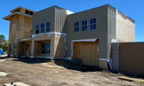 New construction at Storage Star Napa in Napa, California