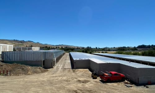 Storage units at Storage Star Napa in Napa, California
