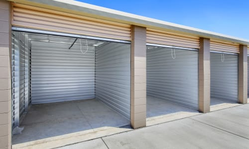 Clean and bright storage units at Storage Star Napa in Napa, California