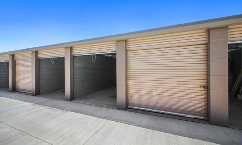 Large outdoor units at Storage Star Napa in Napa, California