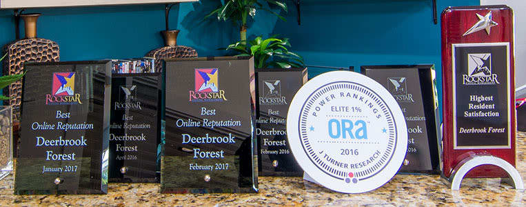 Deerbrook Forest Apartments Awards