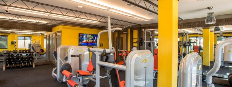Fitness center at Luxe Scottsdale Apartments in Scottsdale, Arizona