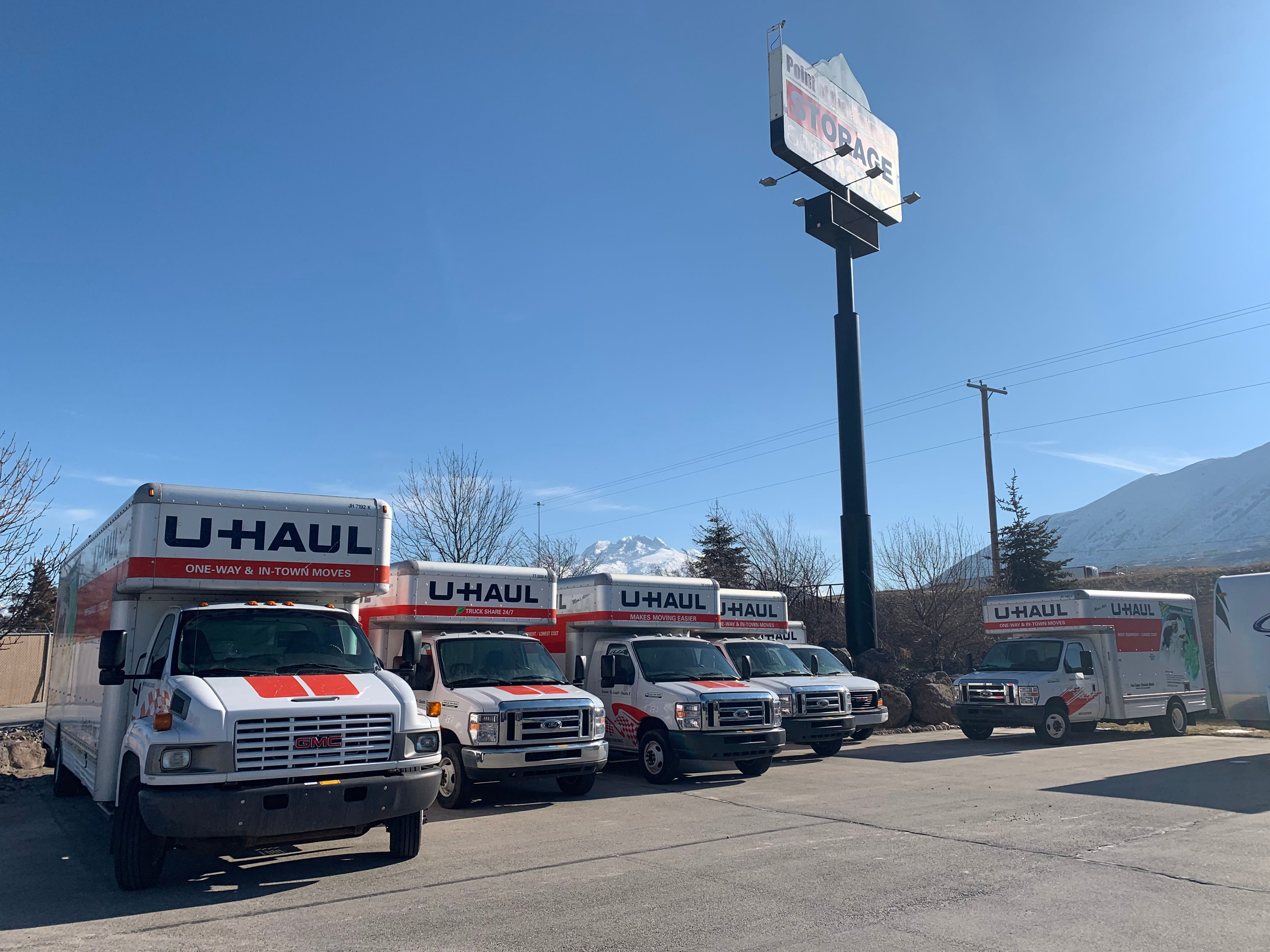 U Haul Moving Truck >> Uhaul Moving Truck Rental In Bluffdale Ut Near Draper Point Of