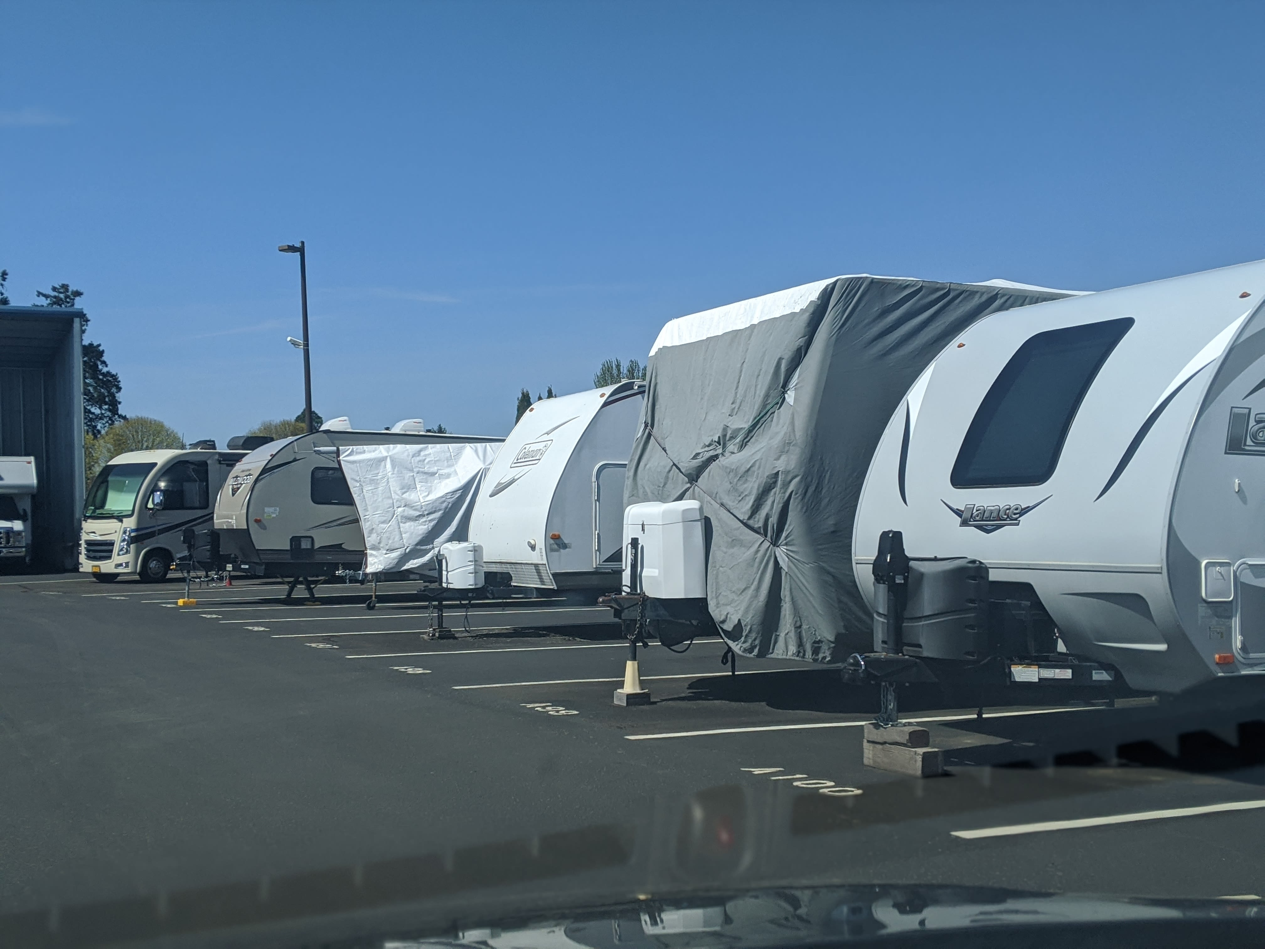 Canby RV & Boat Storage in Canby, Oregon