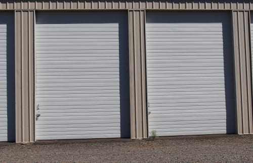 Enclosed storage at South Salem RV & Storage