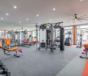 Trend! offers apartments w/ a gym in Las Vegas, NV