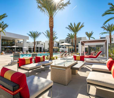 Outdoor Lounge at Revolution in Henderson, Nevada